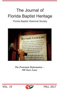 2017 Journal of Florida Baptist Heritage
