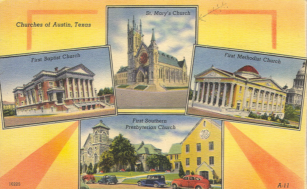 Austin_-_Four_Churches_1_-_ca-1930-1940s