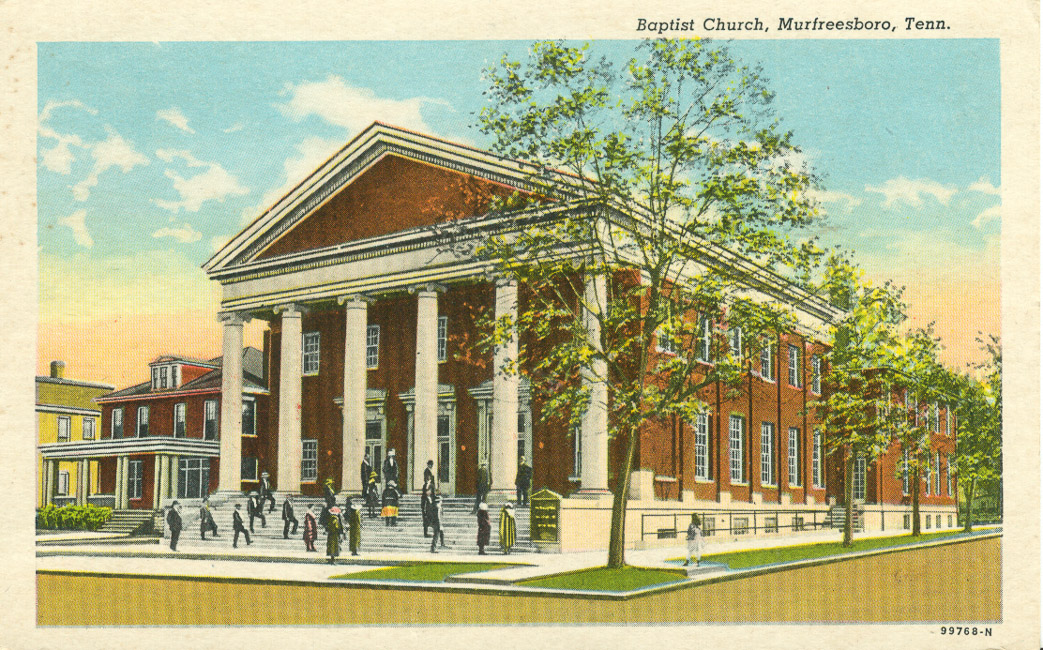 Cashie Baptist Church (Windsor, N.C.) records